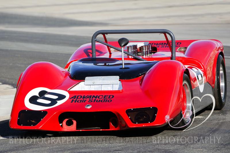 Bert Howard And His Elfin Racing Car