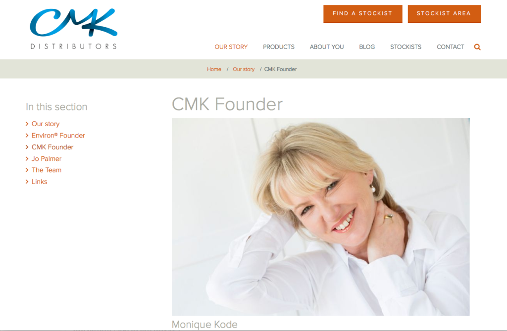 Monique Kode_CMK Distributors
