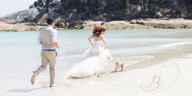 'Trash the Dress' Photoshoot on Flinders Island _ BPhotography